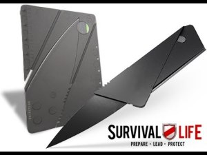 survival lifes free credit card knife
