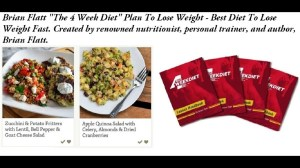 4 week diet book by brian flatt